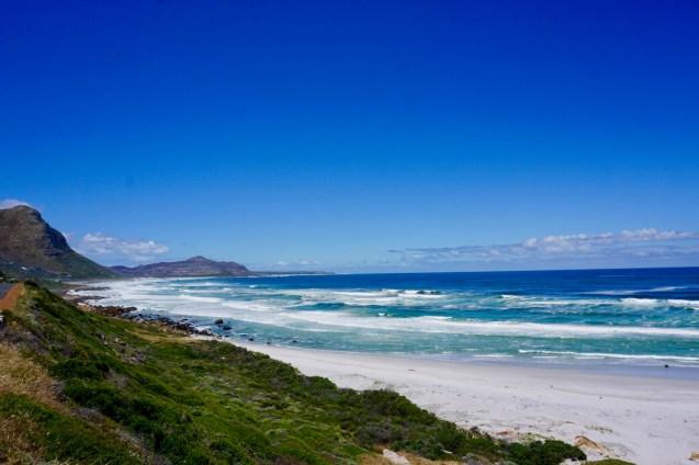 Ozean im südlichen Südafrika