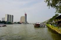 Aussicht auf den Chao Phraya