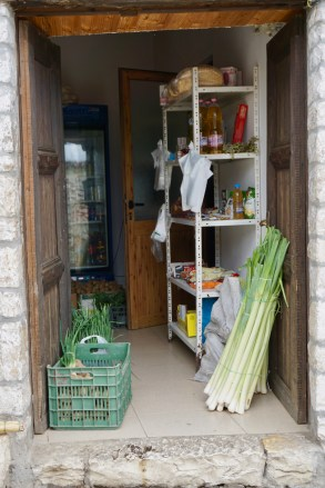 Kleiner Krämer-Laden in Berat