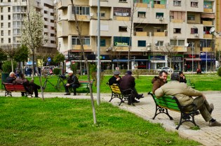 Irgendwo in Tirana