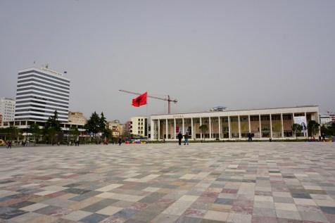 Tiranas Zentrum