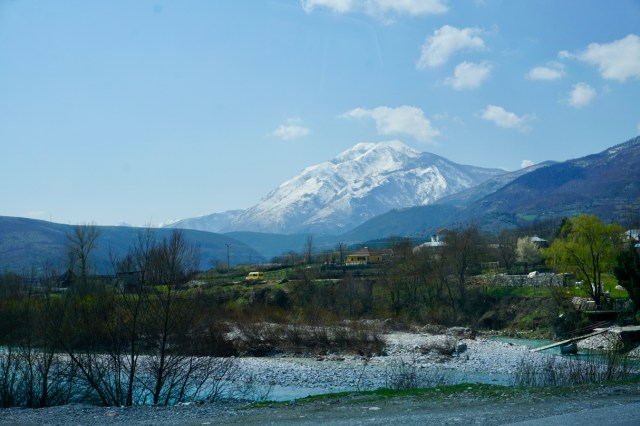Landschaft in Albanien