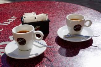 Espresso im Café