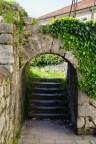 Torbogen der Festung