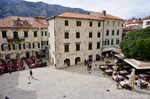 Marktplatz in Montenegro