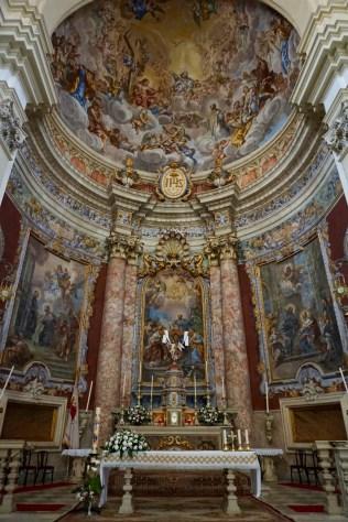 Barock-Kirche von innen