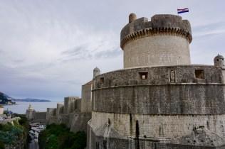 Turm einer Festungsanlage