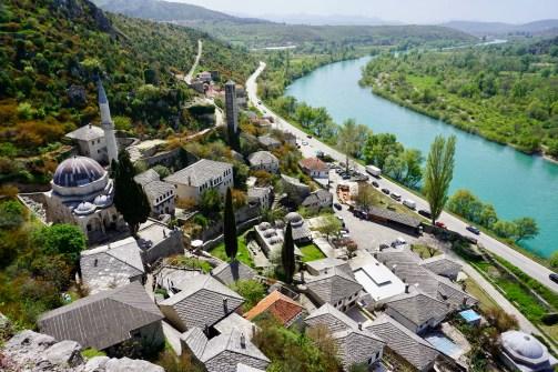 Ottomanen-Stadt in Herzegowina