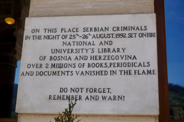 Sarajevo im Bosnienkrieg
