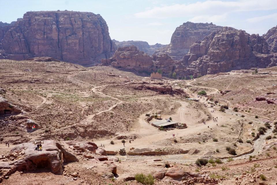 Große, historische Stätte in Jordanien
