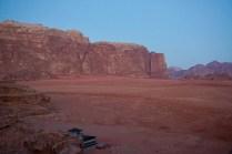 Beduinen-Camp am morgen