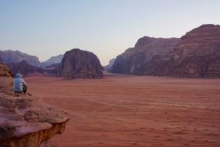 Leere Weiten in Jordanien