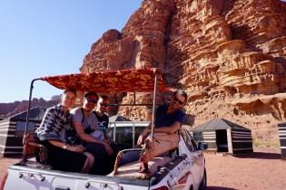 Jeep-Fahrt in Jordanien