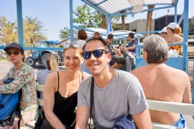 Floating in Israel