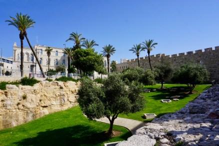 Stadtmauer in Israel