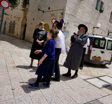 Familie in Jerusalem