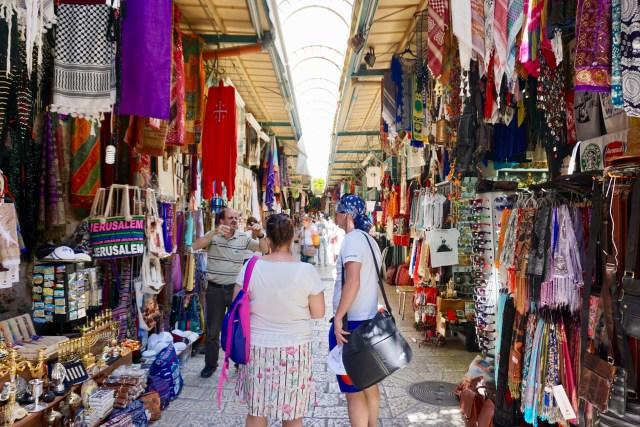 Souvenir-Läden in Jerusalem