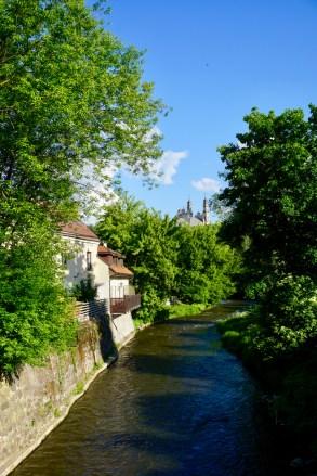 Fluss in Vilnius