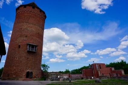 Burg im Gauja Nationalpark