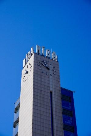 Uhr in Riga