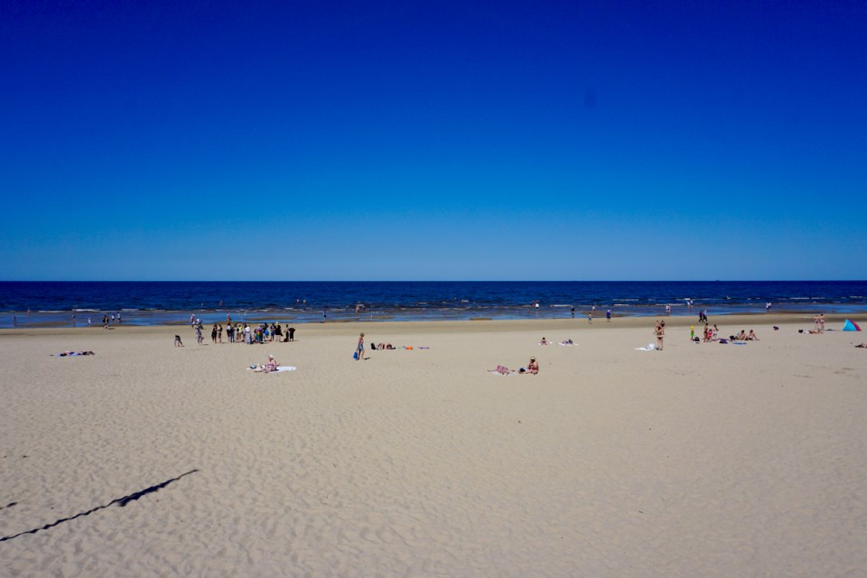 Strand in Lettland