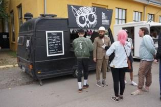 Hippster-Kaffee-Stand