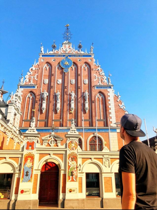 Historische Altstadt in Lettland