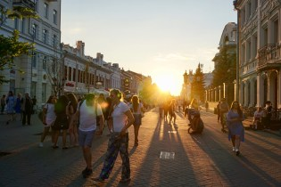Fußgängerzone in Tatarstan