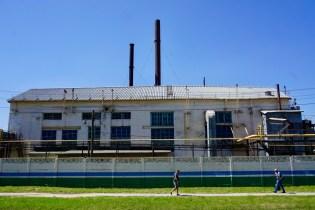 Fabrikgebäude in Russland