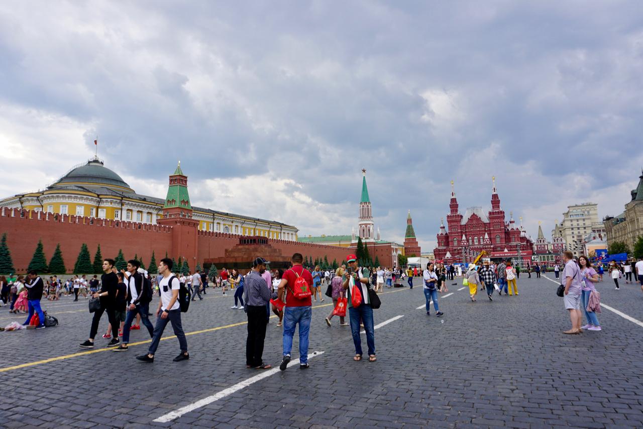 Moskaus Hauptplatz