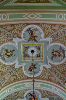 Kathedrale mit Deckendekoration