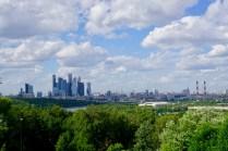 Moskau mit Skyline
