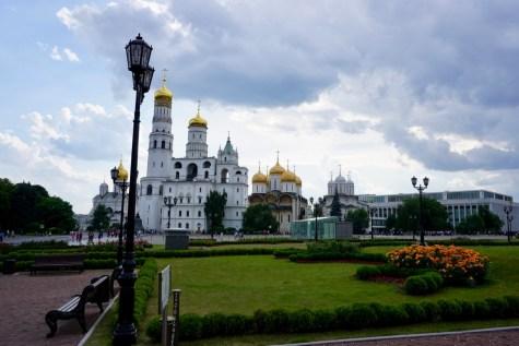 Blick auf den Kreml von Moskau