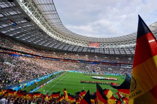 WM 2018 Deutschland vs Mexico