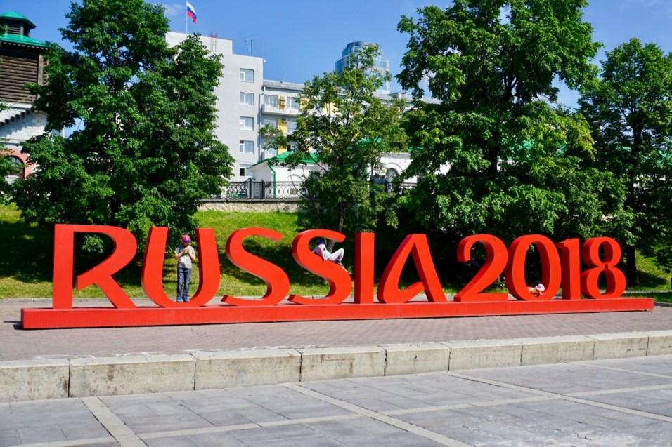 Fußball-Weltmeisterschaft in Jekaterinburg
