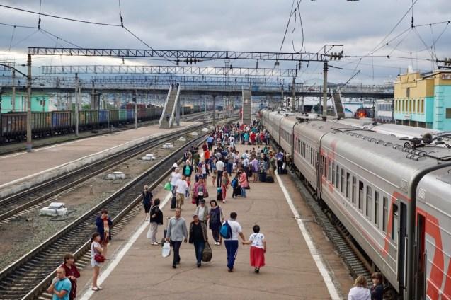 Bahnhof von Ulan-Ude