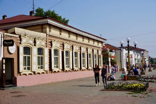 Holzhaus in Russland