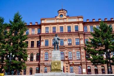 Lenin-Statue in Chabarowsk