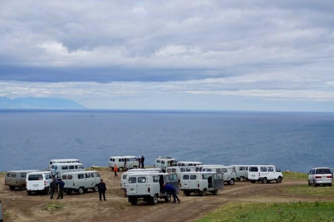 Fahrzeug-Tour in Sibirien