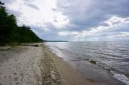 Strand am Baikal-See