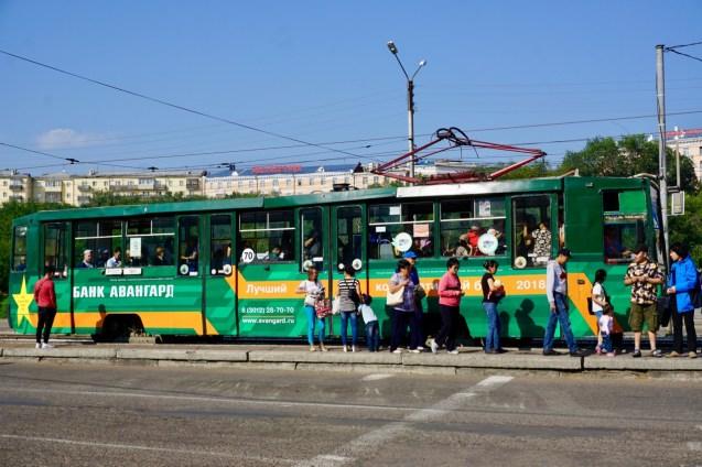 Strassenbahn in Russland