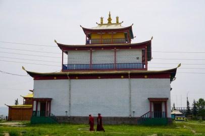 Mönche in Burjatien