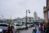 Wladiwostok mit Besuchern im August