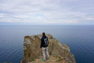 Weite Sicht am Baikal-See
