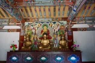 "Tempel ""Songbulsa"" in Nordkorea"