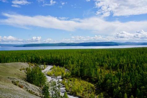 Chöwsgöl Nuur See in der Mongolei