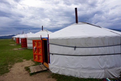 Ger-Camp in Central Mongolia