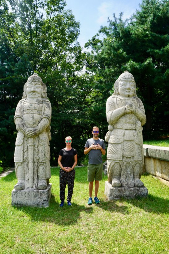 Stein-Götter aus der Goryeo-Dynastie