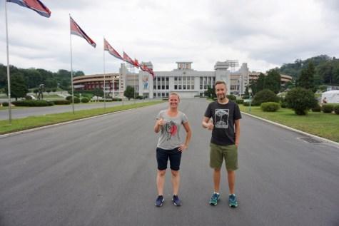 Kim Il Sung Stadion in Nordkorea
