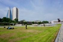 Blick auf das vaterländische Befreiungsmuseum